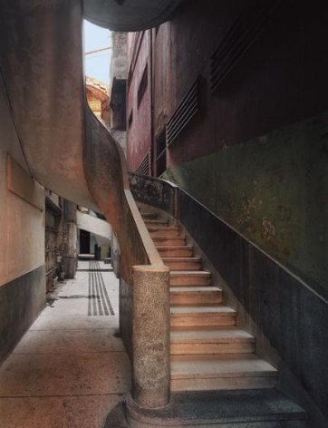 Robert Polidori, Apartment Building, Concordia 409 (Between Gervasio and Escobar), Centro Habana, Havana, Havana, Cuba, 2000, Epson Archival Inkjet Print, 50 x 40 inches/127 x 102 cm