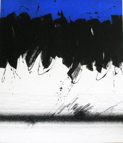 , Golnaz Fathi, Untitled, 2014, acrylic, pen and varnish on canvas, 57.5 x 50.4 x 2 inches/146 x 128 x 5 cm