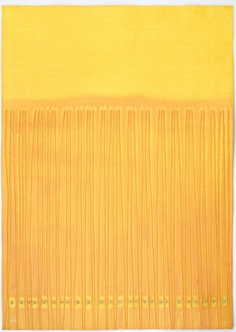Ananda XI, 2007, ink and dye on paper,55 x 39 inches/139.7 x 99.1 cm