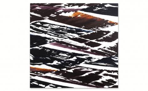 Full Circle K 10, 2020, oil on Dibond onwood,23 x 24 inches/58 x 61 cm