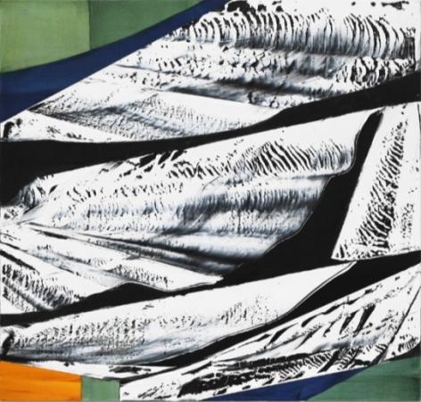 , Ricardo Mazal, Black Mountain MK 11, 2014, oil on linen, 40 x 42 inches / 101.6 x 106.7 cm.