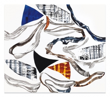 Ricardo Mazal, Kora PF3, 2010, Oil on linen, 80 x 92 inches