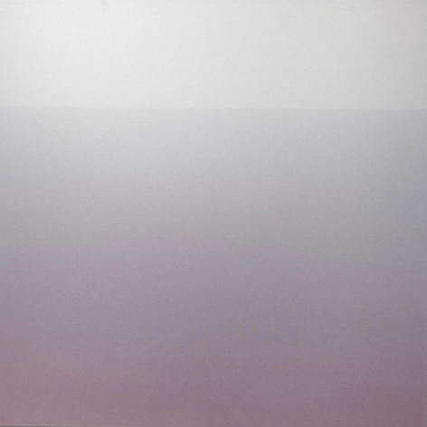 Miya Ando, Akari Light 5-40 AM, 2013, Hand-dyed anodized aluminum,