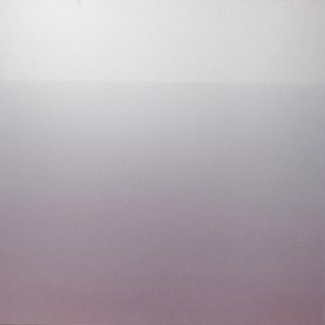 Miya Ando, Akari Light 5-40 AM, 2013, Hand-dyed anodized aluminum,