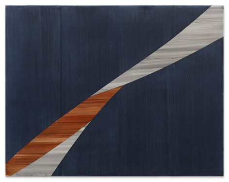Full Circle P 8, 2020, oil on linen, 54 x 69 inches/137.2 x 175.3 cm