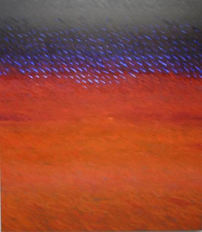 "Joan Vennum Between Venus and Malta2006Oil on canvas80 x 70"""