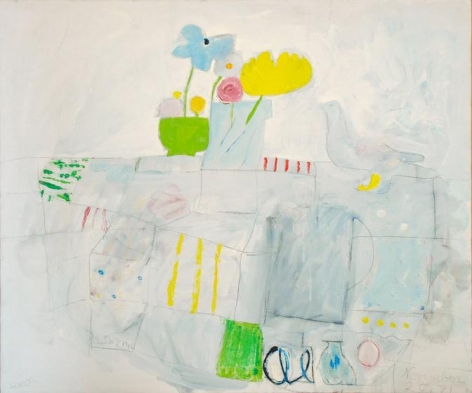 November 20, 1971, oil on canvas, 25.5 x 30.75 inches