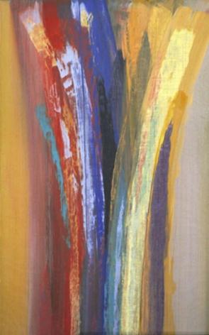 "Vittorio Matino,  American Journey & Yellow , 2007, Acrylic on linen, 32 x 20"""