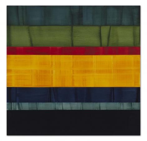 Ricardo Mazal, Compositions In Greens 10, 2014, 71 x 73 inches/180.3 x 185.4 cm