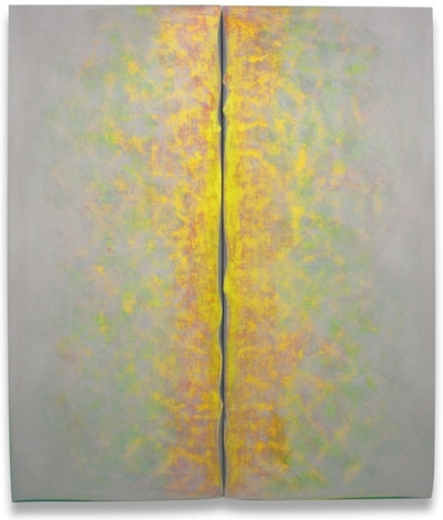 Life Line, 2013, acrylic on fabric on wood, 84 x 72 inches/213.4 x 182.9 cm