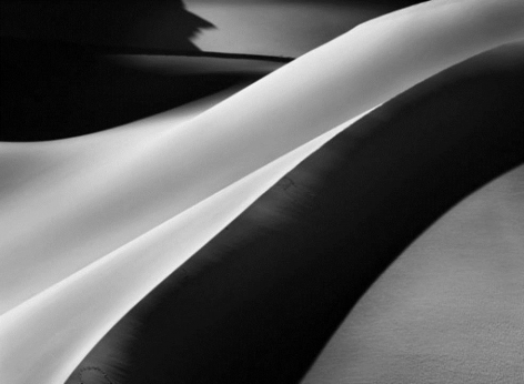 Sand Dunes Between Albrg and Tin Merzouga, Tadrart, South of Djanet, Algeria, 2009, gelatin silver print, 24 x 35 inches/61 x 88.9 cm © Sebastião Salgado/Amazonas Images