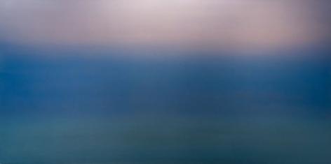 Blue Purple 4.8.1, 2018, pigment and urethane on aluminum, 48 x 96 inches/122x 244cm