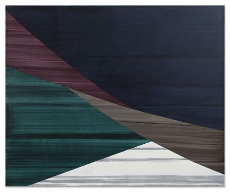 Full Circle P 2, 2020, oil on linen, 71 x 86.5 inches/180.3 x 219.7 cm