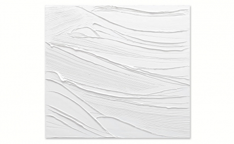 Silence For Sofi 5, 2021, oil on linen, 40 x 44 inches/101.6 x 112 cm