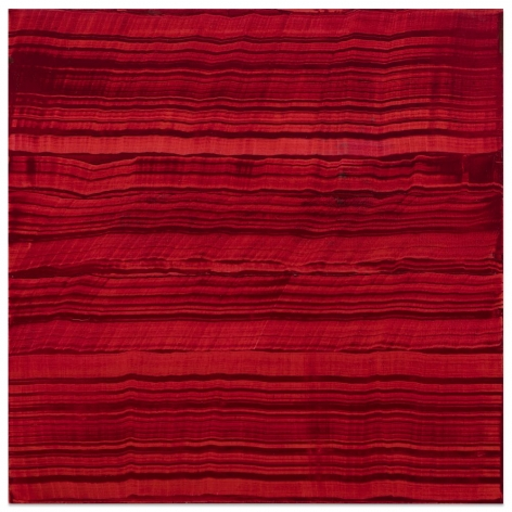Ricardo Mazal, Violet Red 1, 2016, oil on linen, 40 x 40 inches/101.6 x 101.6 cm