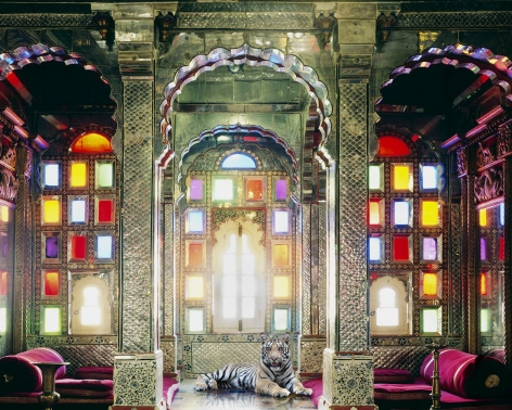 The Survivor, Deogarh Palace, Deogarh, 2012, Hahnemühle ink jet print, 48 x 60 inches/122 x 152 cm