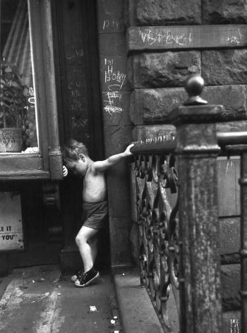 """Willie (Christ Pose), 1959, Silver gelatin print, 21 x25"""""""