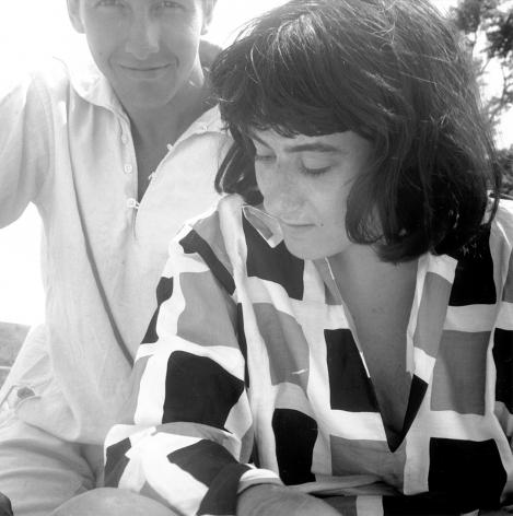 Susan Weil and Robert Rauschenberg