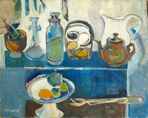 , Still Life, 1951, oil on canvas, 16 x 19.9 inches