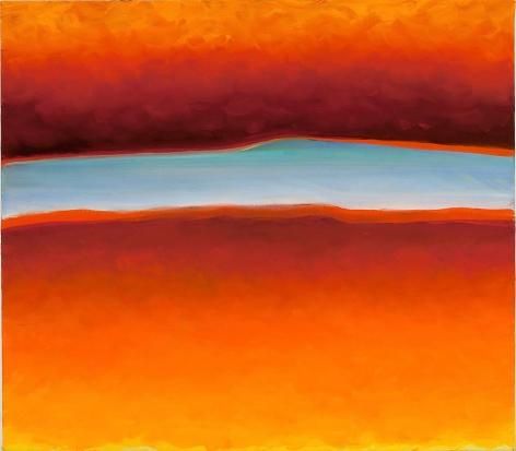 Joan Vennum, Split, 2008, oil on canvas, 22 x 25 inches