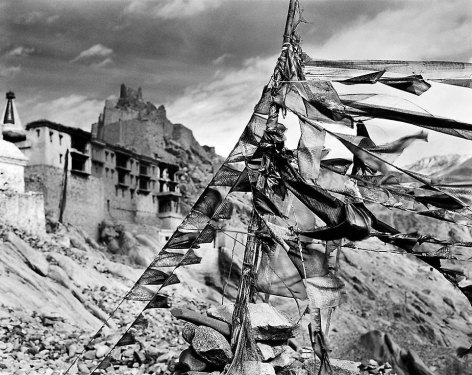 Prayer Flags #4, Ladakh, 2002
