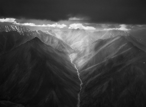 Sebastião Salgado, The eastern part of the Brooks Range, the Arctic National Wildlife Refuge, Alaska, USA, 2009, gelatin silver print, 24 x 35 inches/61 x 88.9 cm
