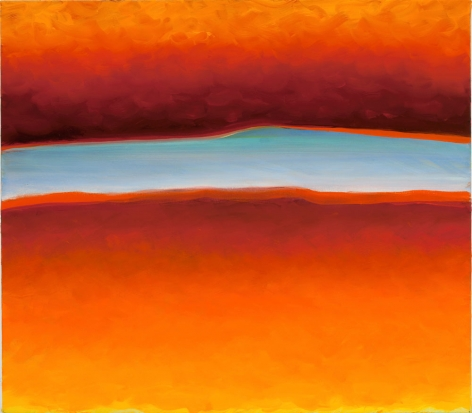 Split, 2008,oil on canvas,22 x 25 inches/55.9 x 63.5 cm