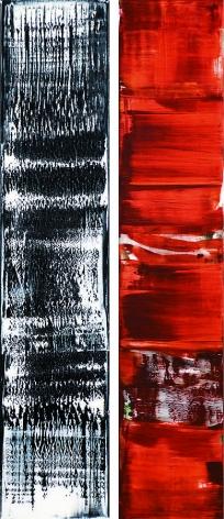 Ricardo Mazal, ODENWALD 1152 N.21, 2008, Oil on linen, 198 x 85 cm