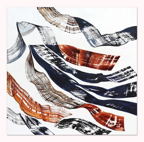 , Ricardo Mazal, Black Mountain PF 2, 2014, Oil on linen, 90 x 93 inches
