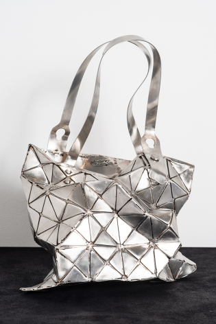 Replicated 1, 2019, stainless steel, 20 x 11 x 8 inches/50.8 x 27.9 x 20.3 cm