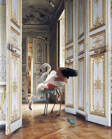 Karen Knorr, The Grand Monkey Room 2 (Château de Chantilly), 2006, colour pigment print on Hahnemühle Fine Art Pearl Paper, 35.4 x 27.6 inches/90 x 70 cm