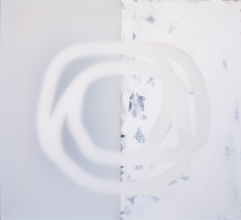 Acima 4, 2018, mixed media on canvas, 33 x 36 inches/83.8 x 91.4 cm