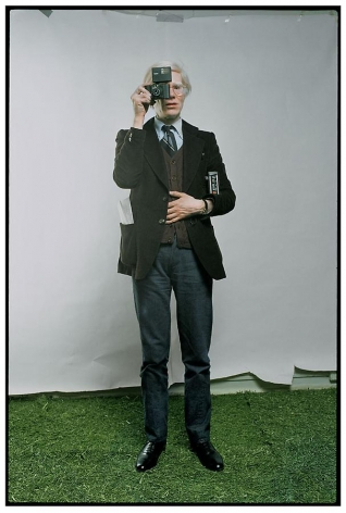 Annie Leibovitz, Andy Warhol, New York City, 1976, archival pigment print, 40 x 60 inches