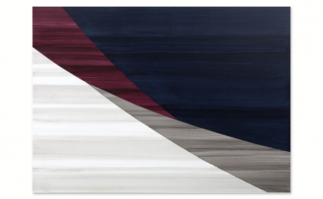 Full Circle P 21, 2021, oil on linen, 50 x 70 inches/127 x 178 cm