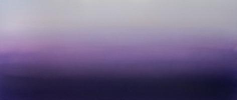 Murasaki (Purple)6.19.23.75.55.5, 2019, pigment and urethane on aluminum, 23.75 x 55.5 inches/60.3 x 141 cm