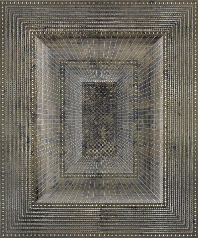 Anil Revri, Ram Darwaza 8, 2011, mixed media on canvas, 60 x 50 inches