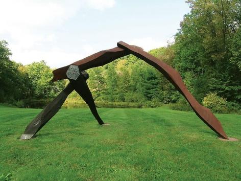 """Samhin, 1996, cherry, oak, 8'h x 9'6""""w x 14'9""""l"""