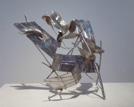 Cool Water, 2010, stainless steel, 15.4x 16.1 x 12.2 inches/39.1 x 40.9 x 31 cm