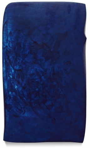 Flux, 2011, acrylicon fabric on wood,32 x 19 inches/81.3 x 48.3 cm