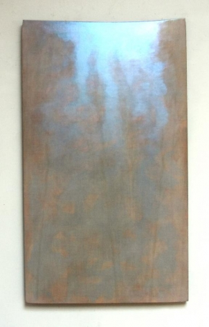 Robert Yasuda, Artesian, 2004-2006, acrylic polymer on fabric on wood, 62 x 36 inches