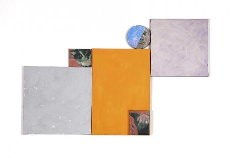 "Kitty Kitty, 2008, Acrylic on canvas, 24.25 x 38"""