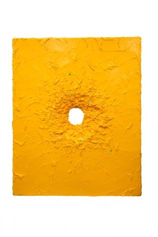 Boundless I, 2016, acrylic paint, heavy gel on fiberglass, 59.5 x 47.6 x 3.4 inches/151 x 121 x 8.5 cm