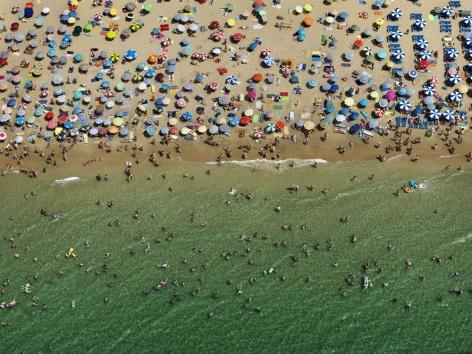 Benidorm #1, Spain, 2010,chromogenic color print,39 x 52 inches/99.1 x 132.1 cm