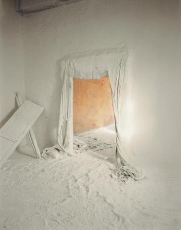 Edward Burtynsky, Saltworks #1, Sambar Salt Flats Rajasthan, India, 2000, 40 x 50 inches