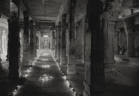 Kenro Izu, Kanchipuram #638, 2012, archival pigment print, 36 x 48 inches; © Kenro Izu