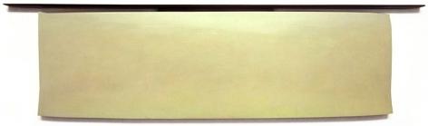 Eos, 2013, acrylic on fabric on wood,25 x 95 inches/63.5 x 241.3 cm