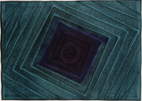 Sohan Qadri,Kalinda, 2007, ink and dye on paper, 39 x55 inches/99.1 x139.7 cm