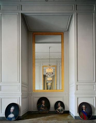 Cabinet intérieur de Madame Adélaïde, (56 C) CCE.01.058, Corps Central – R.d.C., Château de Versailles, France, 1986, archival inkjet print, 50 x 60 inches