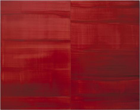 Guadalajara Red, 2016, oil on linen,55 x 70 inches/139.7 x 177.8 cm