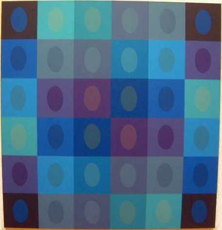 Betty Weiss,  Harmonia , 2003, Acrylic on canvas, 63 x 60""